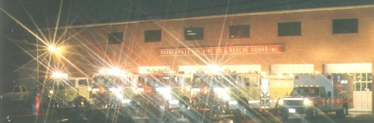 Branchville at night - Circa 1995